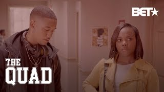 Ep. 7 Sneak Peek: Ebonie Sees The Man Who Caused Her Concussion, Hazed Her | The Quad