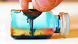 Wie man eine Magische Glasfläschen selber macht!