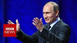 """Vladimir Putin: Syria air strikes were an """"act of aggression"""" - BBC News"""