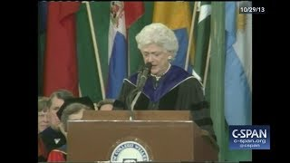 Barbara Bush Wellesley College Commencement - FULL VIDEO (C-SPAN)