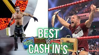 10 BEST Ever Money In The Bank Cash In
