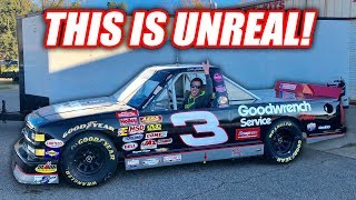 I BOUGHT A LEGIT FREAKING NASCAR TRUCK!!!