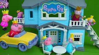 Princess Peppa Pig Royal Family Toys Ben & Holly