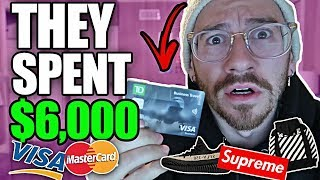 I Gave Away My Credit Card for a Day! (They spent $6,000)