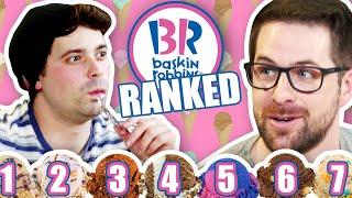 We Ranked Every Ice Cream Flavor Ever