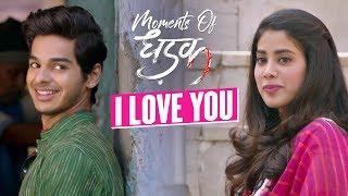 I love you | Moments Of Dhadak | Janhvi & Ishaan | Shashank Khaitan | 20th July