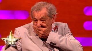 Sir Ian McKellen & Dame Judi Dench Sat In The Queen's Throne!   The Graham Norton Show