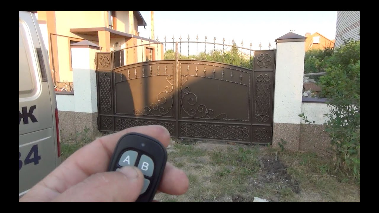 Откатные ворота в майкопе этапы монтажа автоматических ворот