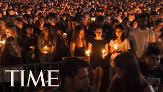 Thousands Grieve Florida School Shooting Victims At Candlelight Vigil   TIME