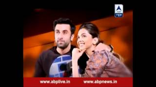 Ranbir and Deepika on ABP News