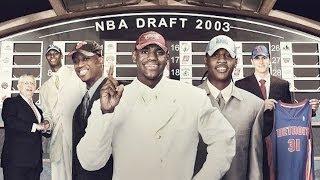 2003 NBA Draft Revisited (LeBron / Darko / Melo / Bosh / D-Wade) (HD)