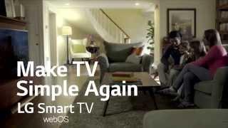 LG webOS 2.0 - Make TV Simple Again