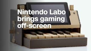 Nintendo Labo: DIY cardboard kit brings gaming off-screen