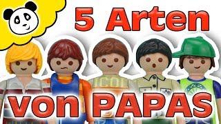 PLAYMOBIL Familie - 5 Arten von Papas - Playmobil Film - Pandido TV