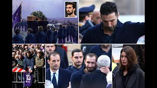 Football greats join mourners on packed streets of Florence for Astori funeral - 247 News