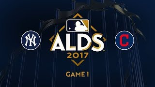 Bauer, Bruce propel Tribe past Yankees, 4-0: 10/5/17