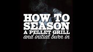 How to Season/Initial Burn in on a REC TEC Wood Pellet Grill