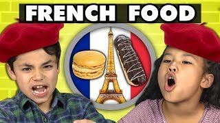 KIDS EAT FRENCH FOOD! | Kids Vs. Food