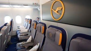 THE LUFTHANSA ECONOMY EXPERIENCE! | LOS ANGELES-FRANKFURT | A380