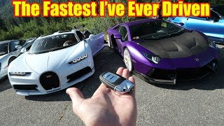 Fastest Recorded Top Speed of the Bugatti Chiron