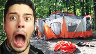 City People Go Camping For The First Time