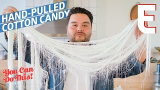 How To Make Cotton Candy By Hand, Using an Ancient Chinese Method — You Can Do This!