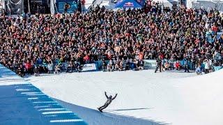 Shaun White Stomps a MENTAL 1st Place Halfpipe Run | Burton US Open 2017