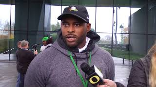 Keith Heyward Reflects on Playing Football at Oregon State
