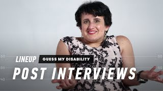 Guess My Disability (Post-Interviews) | Lineup | Cut