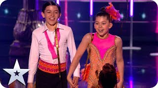 Tiny dancers Libby and Charlie steal the show! | The Final | BGT 2019
