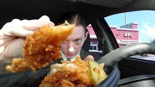 NEW KFC Hot Honey Chicken Tenders Review!