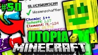 BABY CHAOSFLO wird WISSENSCHAFTLER?! - Minecraft Utopia #050 [Deutsch/HD]