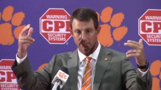 TigerNet.com - Dabo Swinney Troy postgame press conference - 9.10.2016