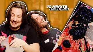 How to ACRYLIC POUR - Ten Minute Power Hour