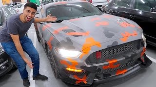 NEW MUSTANG WRAP !!!