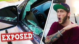 "Why I destroyed a ""fans"" car..."