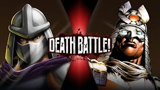 Shredder VS Silver Samurai | DEATH BATTLE!