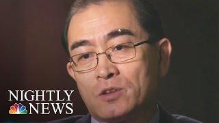 North Korean Defector To Lester Holt: I