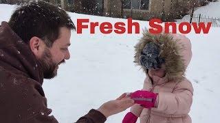 FRESH SNOW!!!