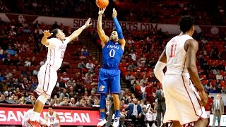 Baseline View: Frank Mason goes off for 28 in Jayhawks 81-70 win over the Sooners