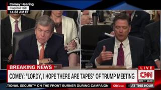 Comey explains why he asked a friend to leak his memo to the NYT