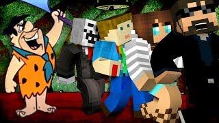 Minecraft: FLINTSTONE YOUTUBER MURDER | MODDED MINI-GAME