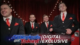 Acrobatic Group The Godfathers are Delighted with Their AGT Performance - America