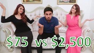 $75 Dress Vs. $2,500 Dress !!