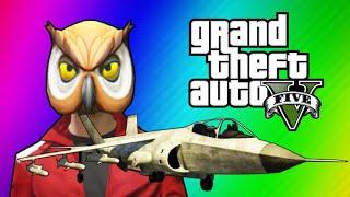 GTA 5 Online Funny Moments - Hydra Jet Fun, Delirious