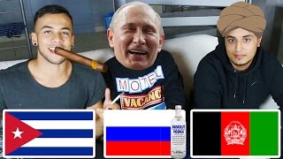 Afghane vs. Russe vs. Cubaner | Sprachen-Challenge