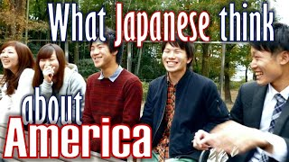 What Japanese think about America (Their Voices) 大学生インタビュー・クイズ (アメリカ)