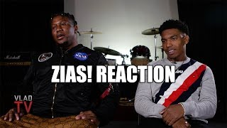 ZIAS! Reaction on Cardi B Altercation, Cardi Breaking & Jumping On Zias