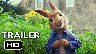 Peter Rabbit Official Trailer #1 (2018) Margot Robbie, Daisy Ridley Animated Movie HD