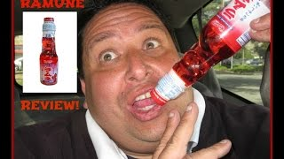 """Ramune Strawberry """"Marble Soda"""" REVIEW!"""